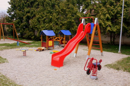 Detské ihriská v Rusovciach