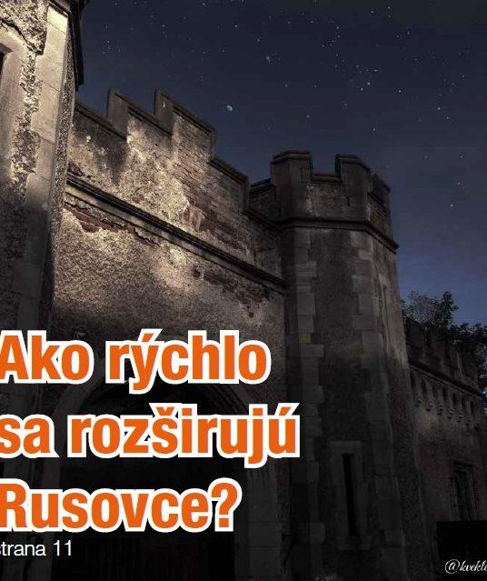 Najnovšie číslo časopisu Pre Rusovce